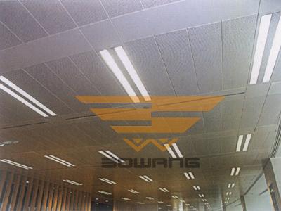 博网金属吸声材料在大型办公室吸声降噪中的应用
